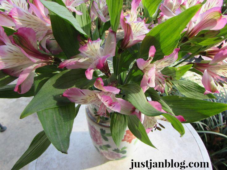 flowerswhitetable
