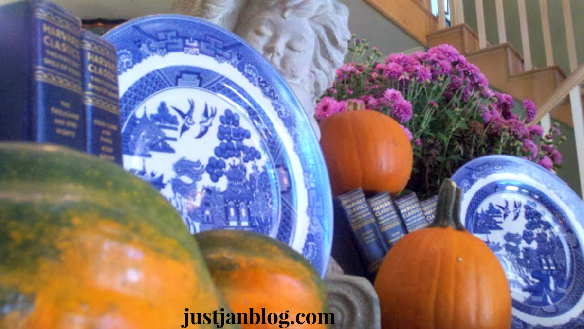 buffett pumpkins blueandwhitedishes