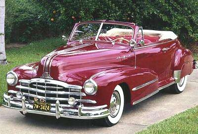1948 Pontiac Deluxe Torpedo Eight Convertible