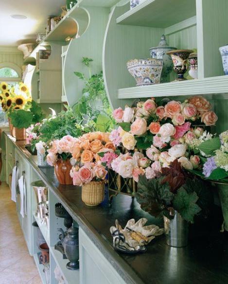CM Charlotte Moss Hampton's potting room