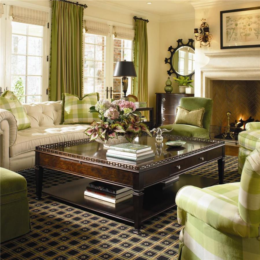 New-Traditional-living-room via Baers