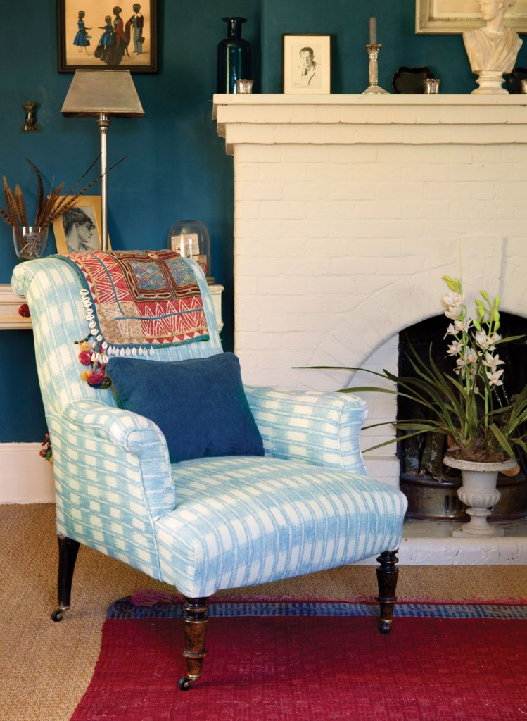 blue-ikat-chair