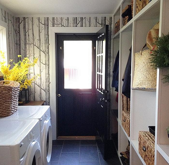 Jessika Goranson Lewand laundry room