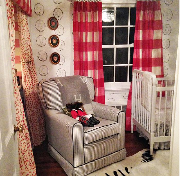 Jessika Goranson Lewand Baby nursery