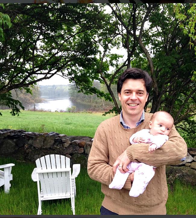 Jessika Goranson Lewand husand and baby girl