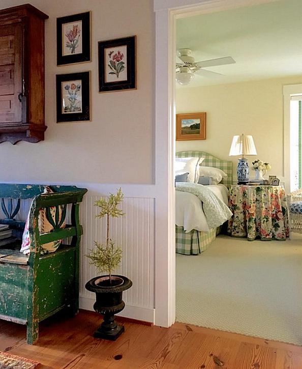 Karen Keysar bedroom off hall