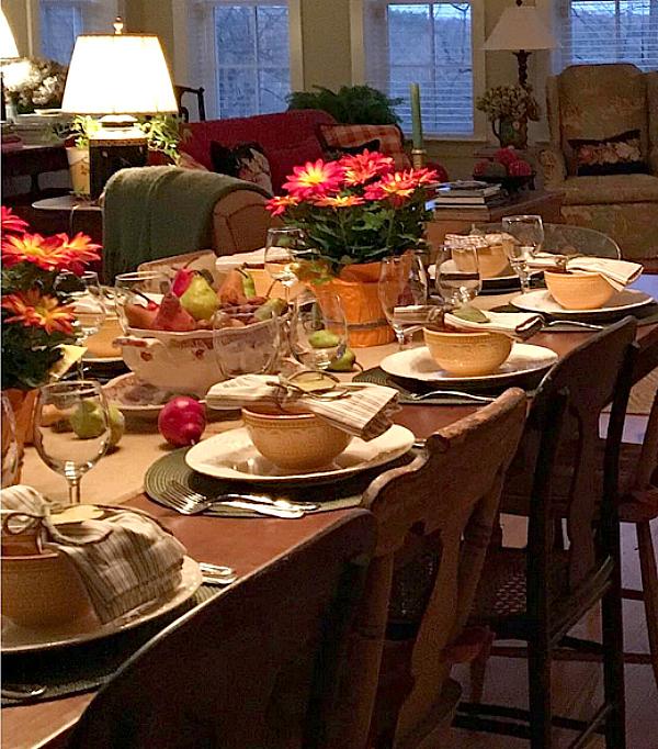 Karen Keysar dining table