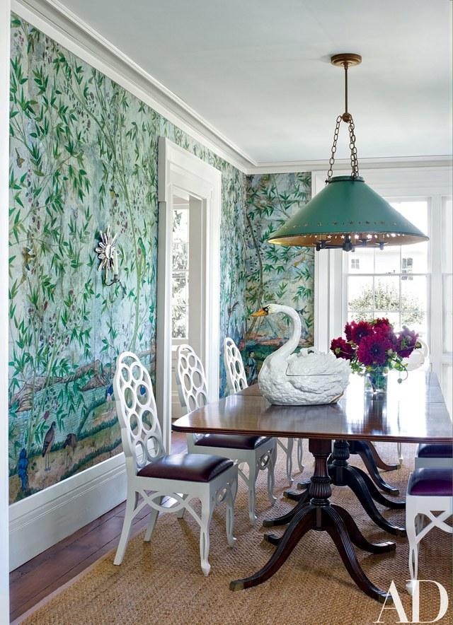 Christopher Spitzmiller and decorator Sam Allen's getaway in New York's Hudson Valley