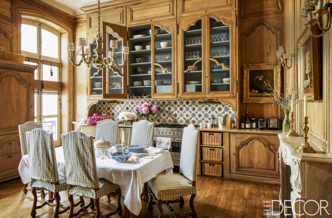 design country dining interiors decor room french interior inspiration style